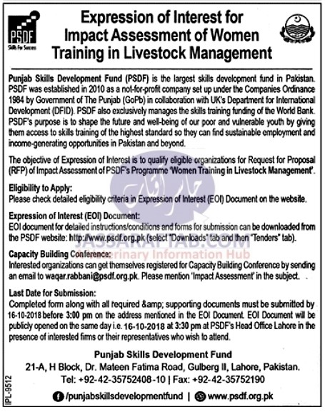 Women training in livestock managment