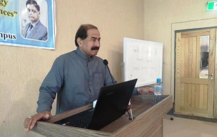 Prof. Dr. Sarwar Gujjar VC Gomal University
