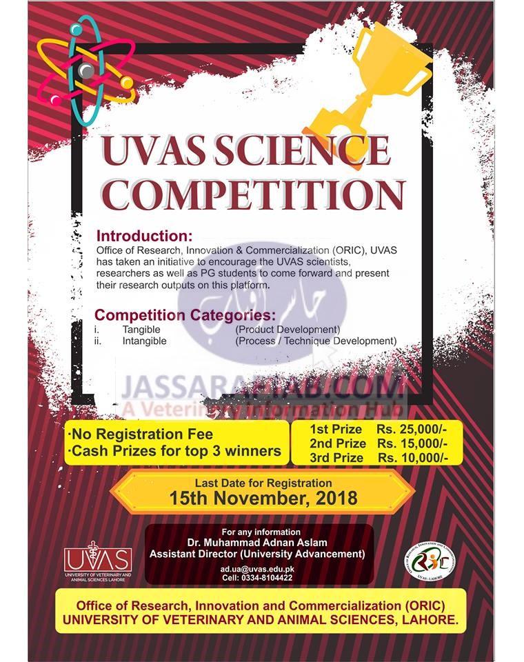 UVAS science competition