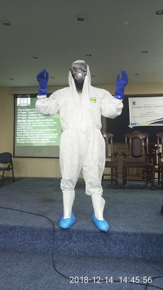 Biosafety and biosecurity in bio labs