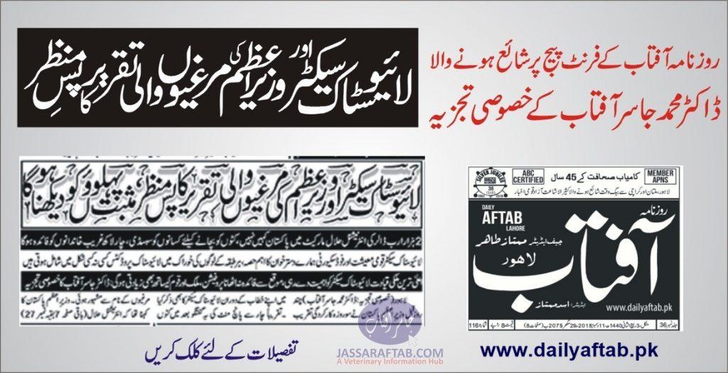 Daily Aftab Imran Khan Speech PTI