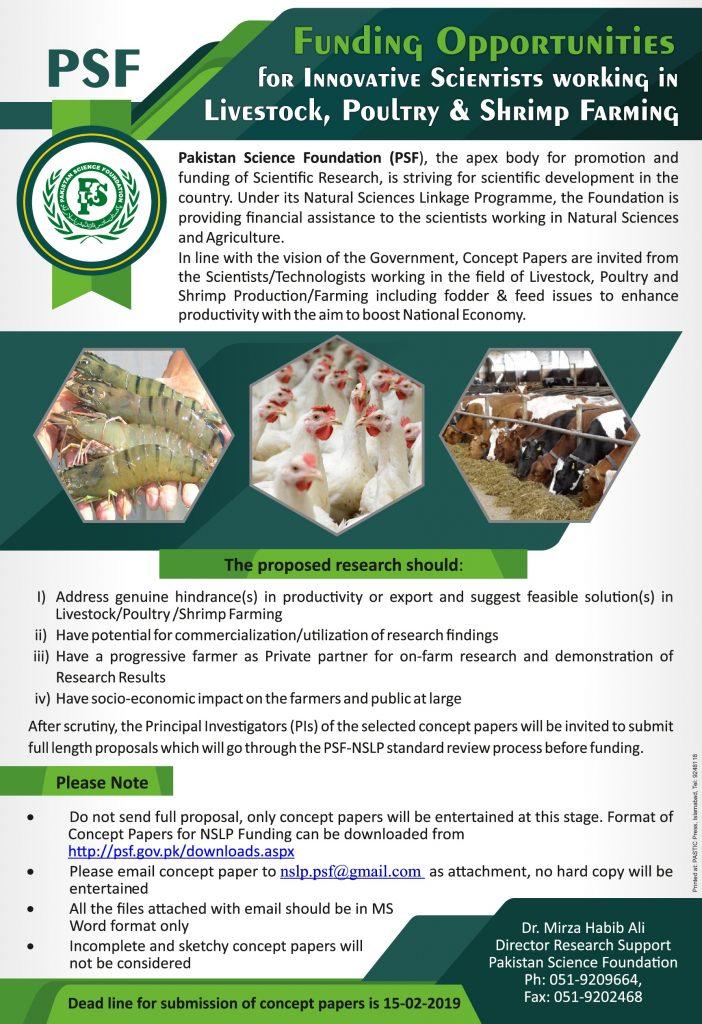 PSF Livestock, poultry, shrimp