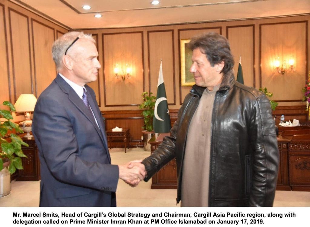 PM meeting with cargill