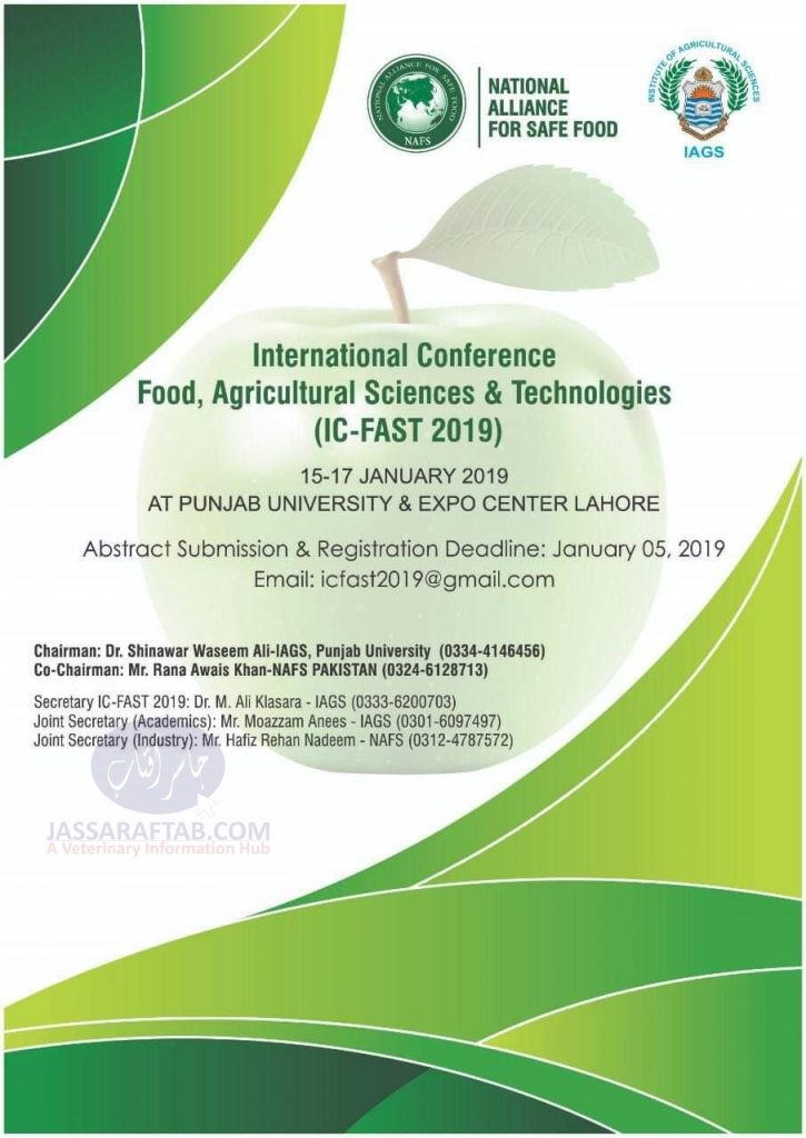 Agricultural Sciences Conference