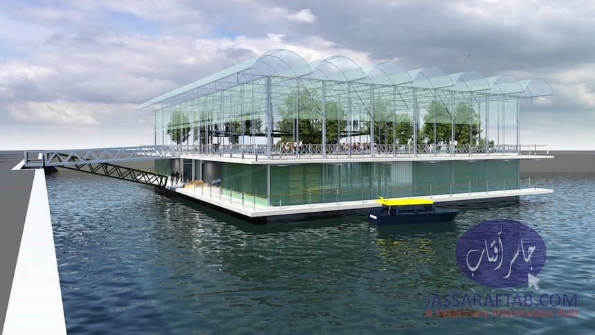 Innovative Floating Dairy Farm