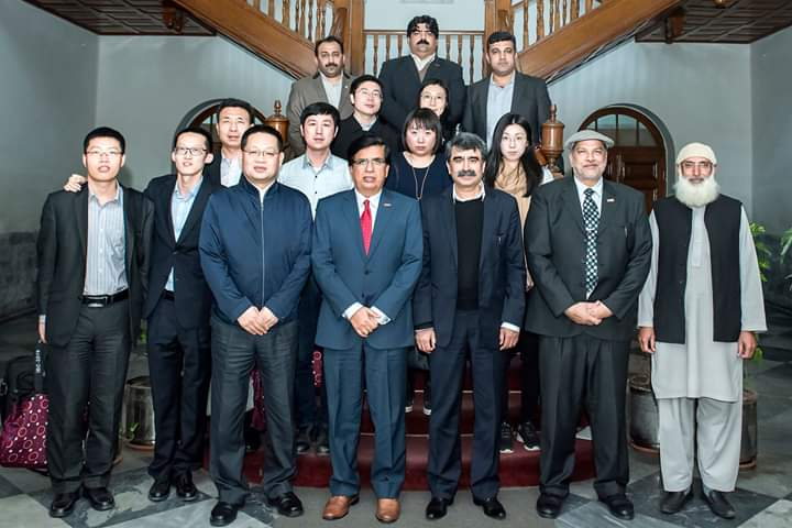 Chines Delegation with Livestock Experts