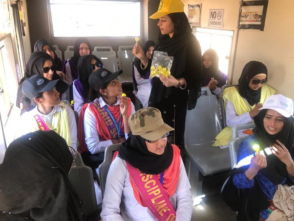 mobile training Bus