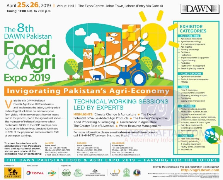Dawn food and agri expo