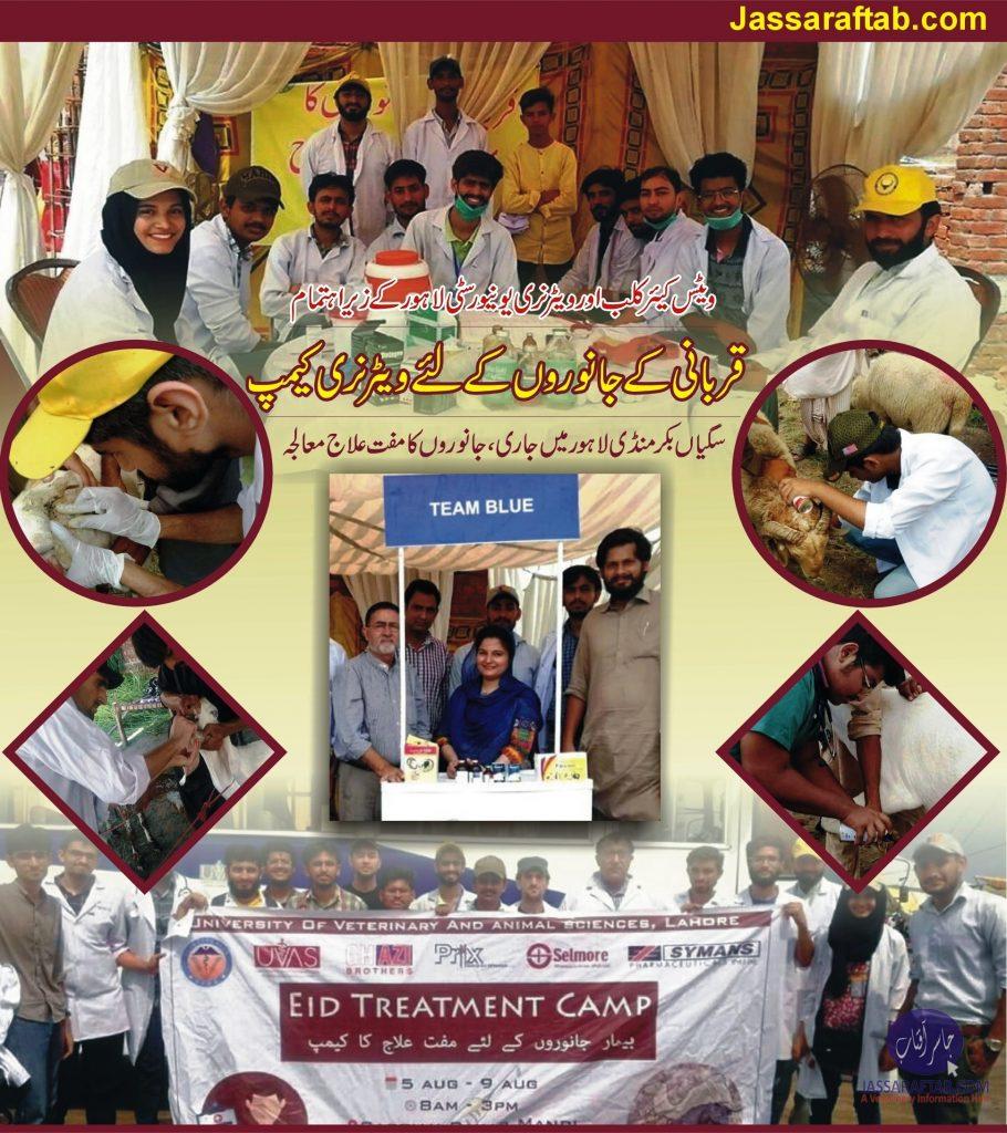 Eid Treatment Camp Saggian Lahore