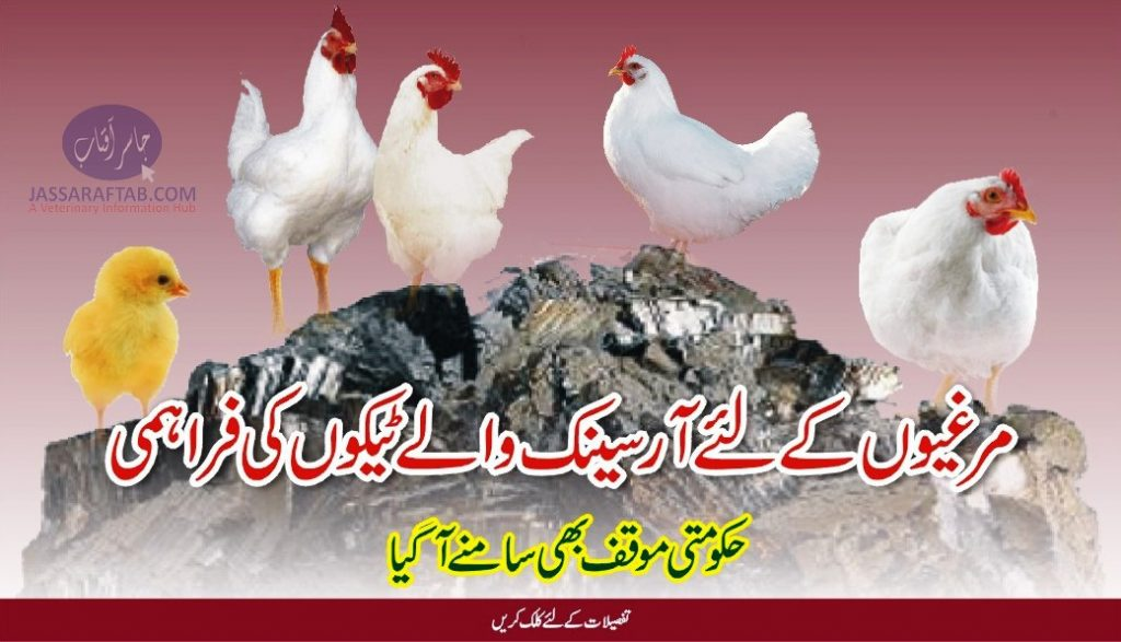 Arsenic poultry