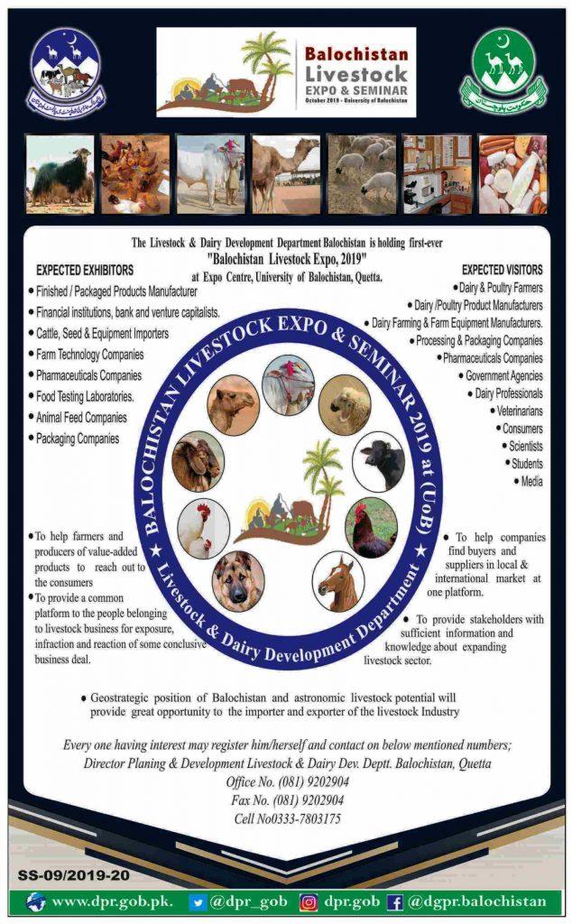 Balochistan Livestock Expo and Seminar