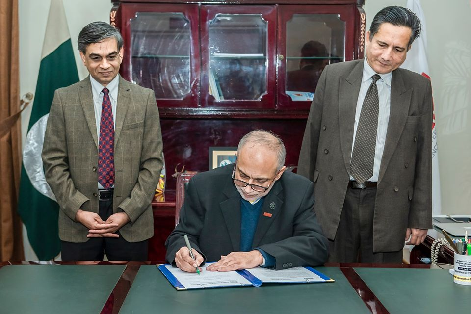 Professor Dr Nasim Ahmad  assumed the charge of UVAS Vice-Chancellor