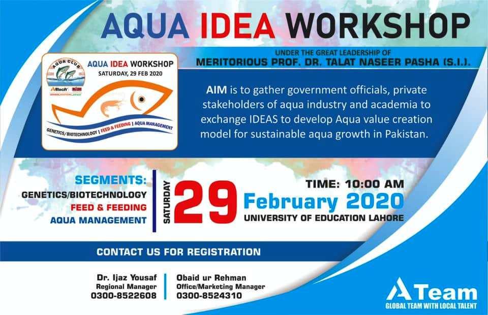 Aquaculture and Fisheries Workshop