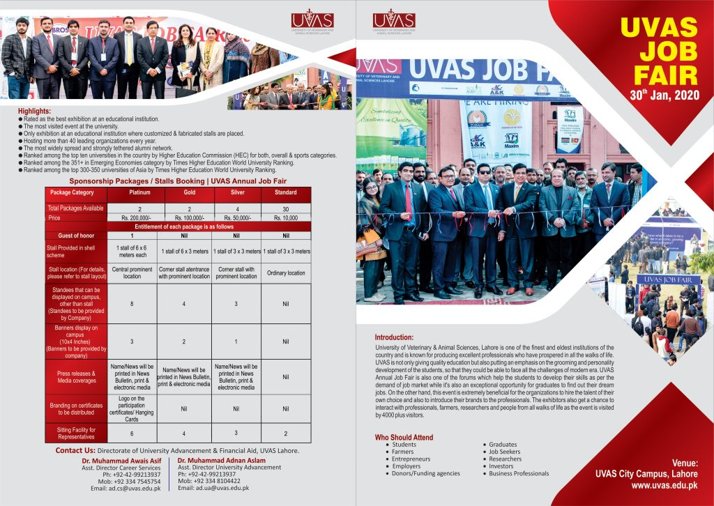 UVAS Job Fair