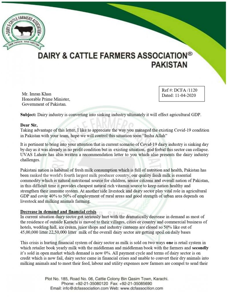 Crisis of Dairy industry