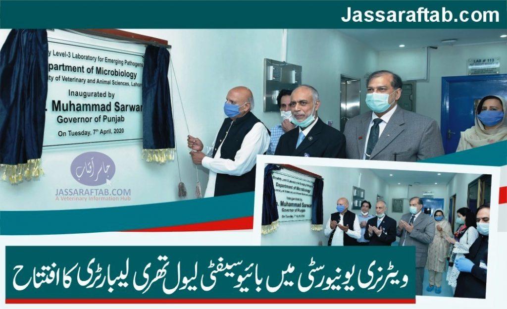 Biosecurity Level 3 Lahore