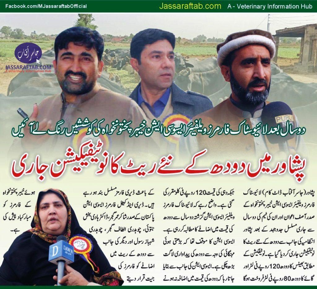 Milk Price Peshawar