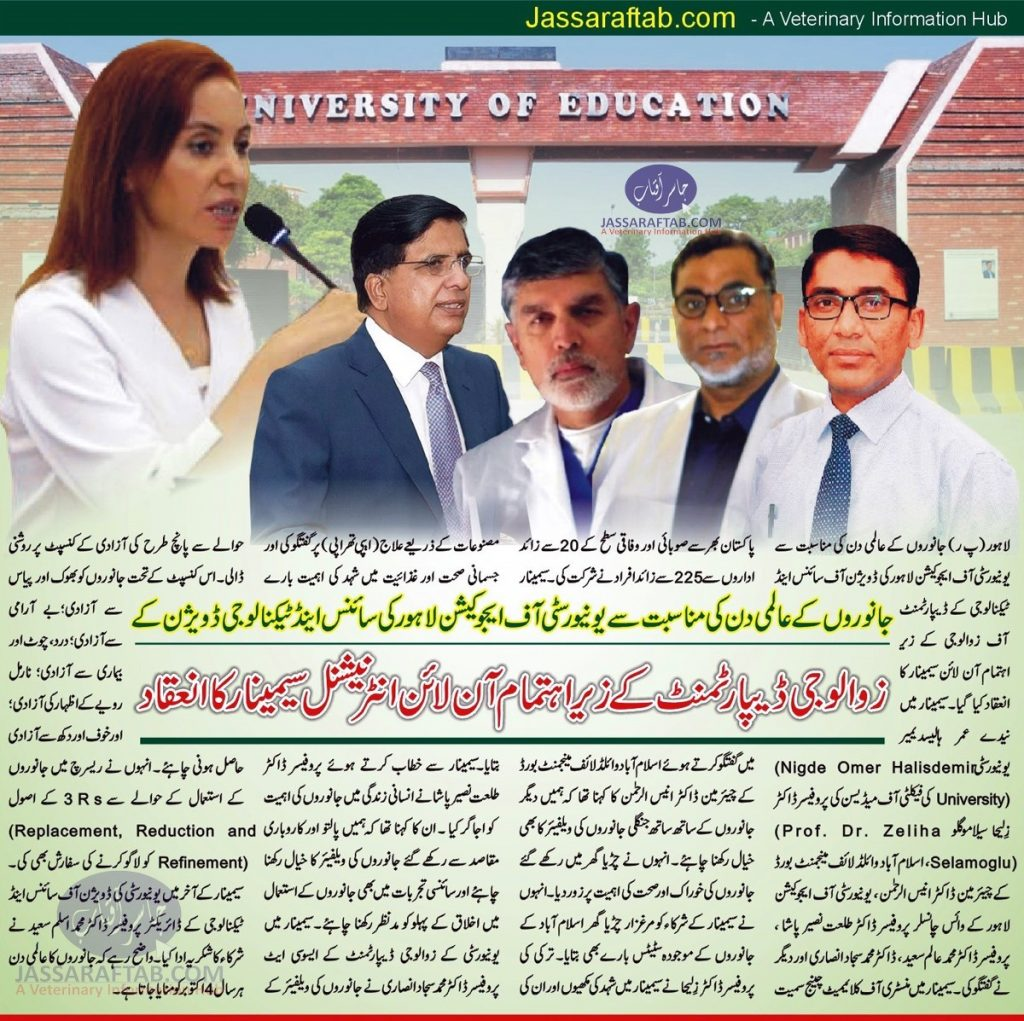 University of education zoology department