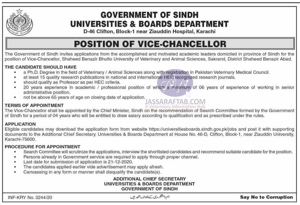Opportunity as VC at SBBU