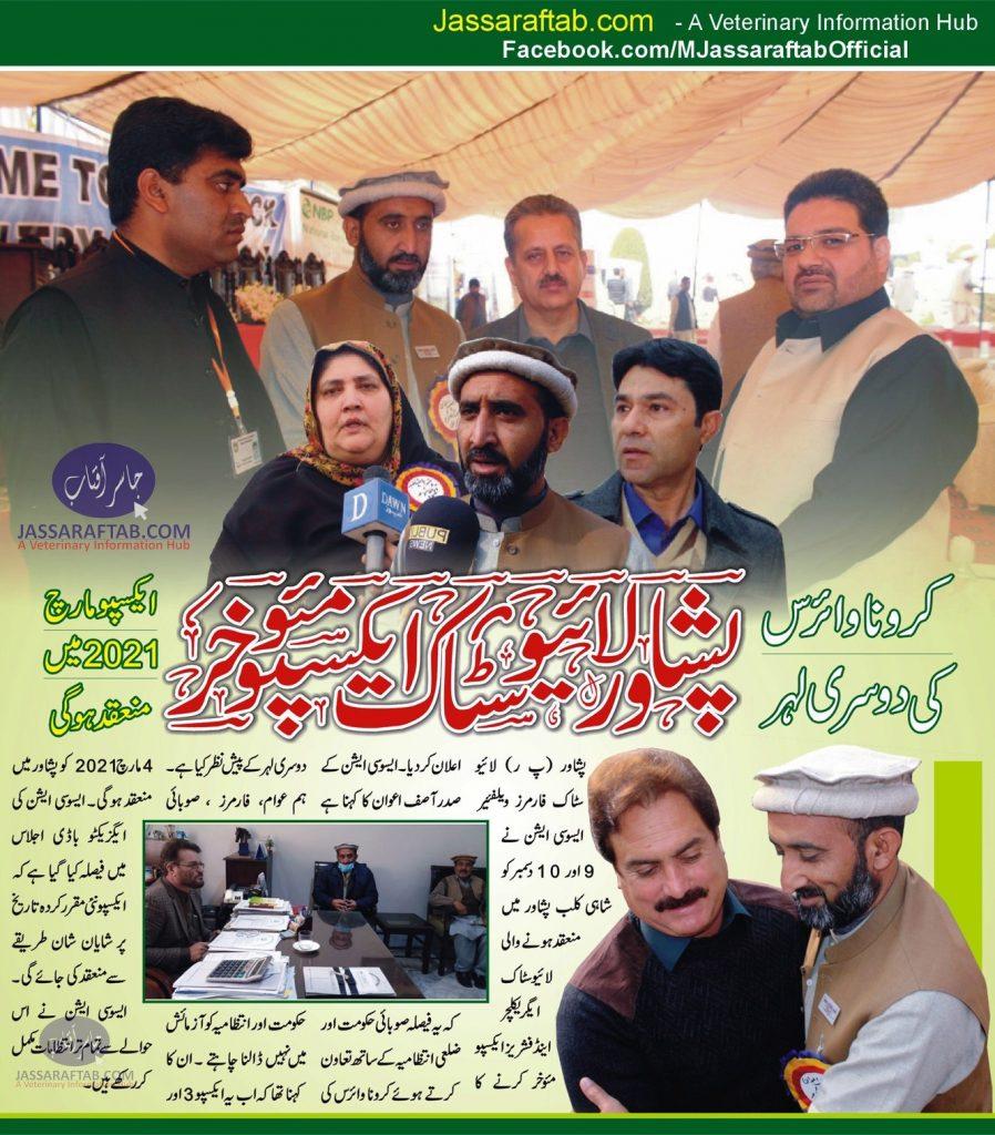 Livestock expo of peshawar postponed