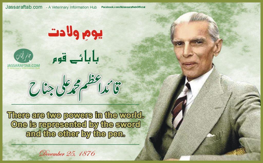 Quaid e azam day 25 december