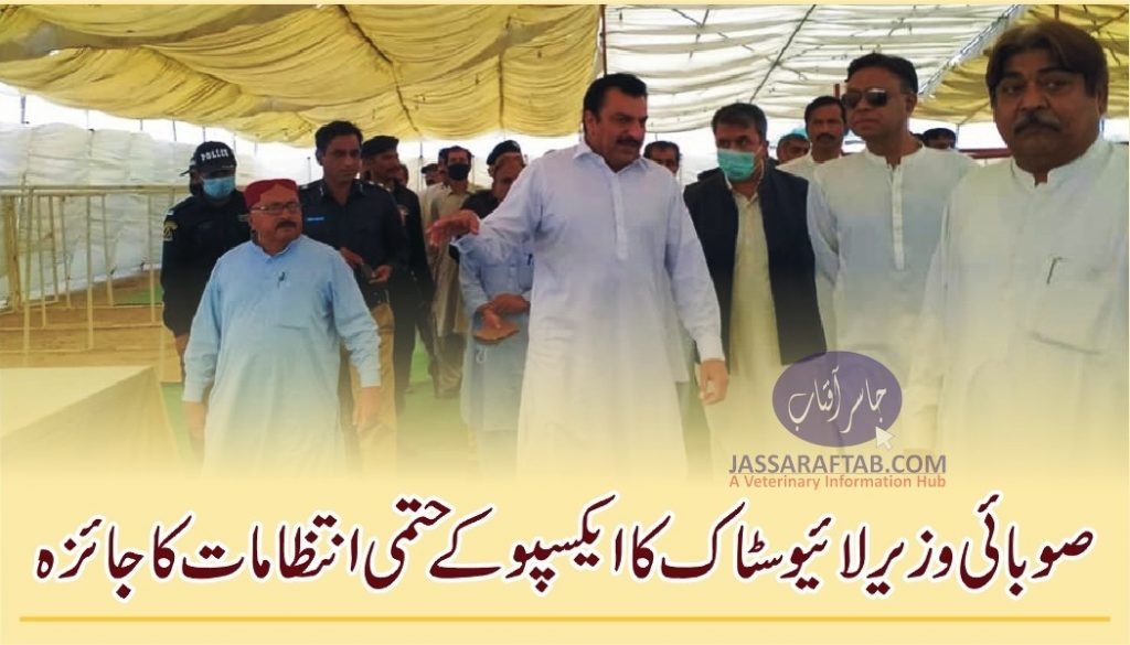 Abdul Bari Pitafi visited the Expo at Hatri Bypass to finalize the arrangements