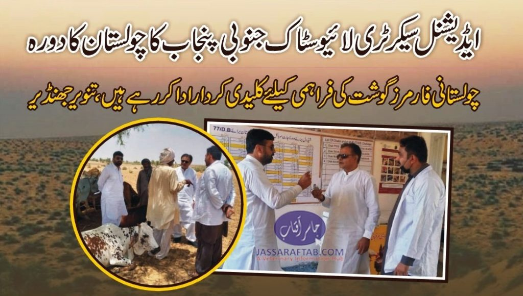 additional secretary livestock south punjab