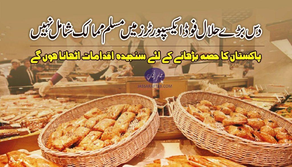 halal food export potential