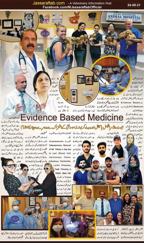 evidence based veterinary treatment