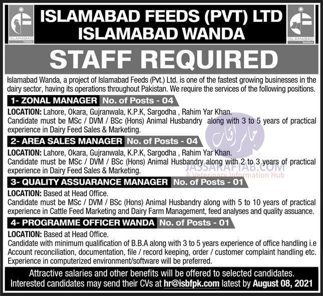 Jobs for veterinary professionals