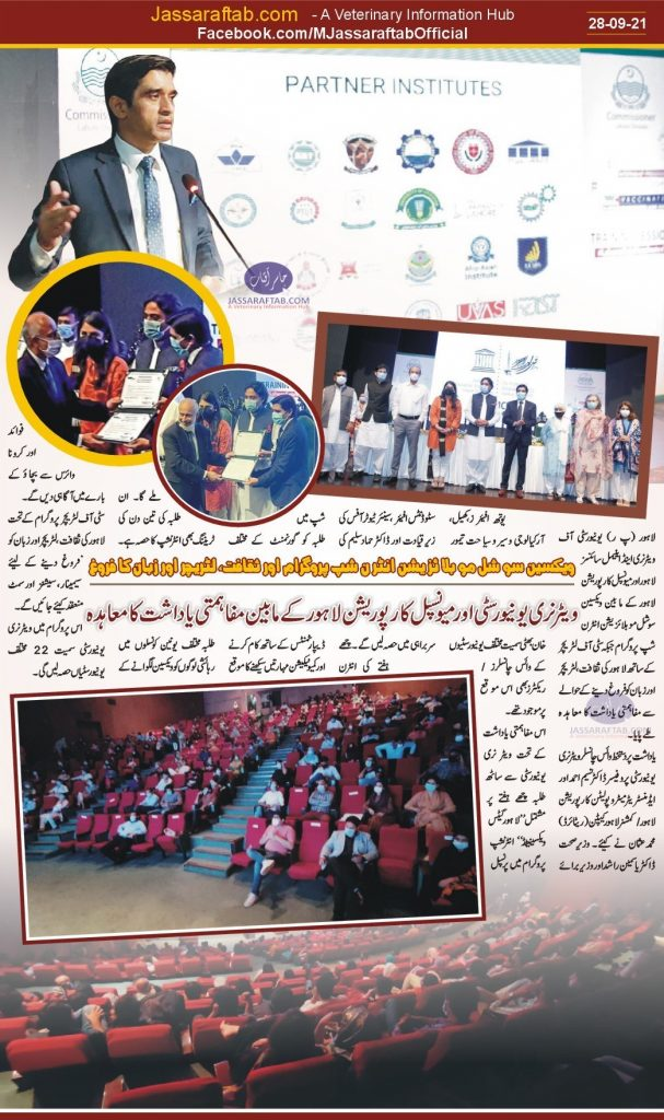 Lahore gets vaccinated internship